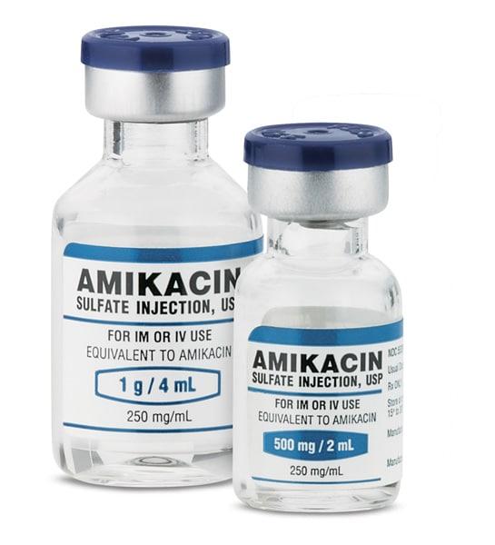 AMIKACIN Kháng sinh họ aminoglycosid
