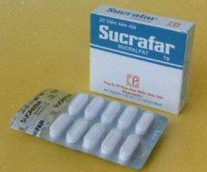SUCRALFAT thuốc bảo vệ niêm mạc dạ dày