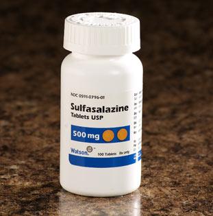 SULFASALAZINE thuốc kháng khuẩn (1)
