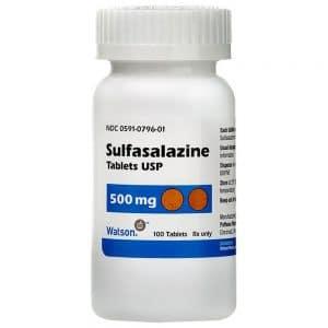 SULFASALAZINE thuốc kháng khuẩn (2)