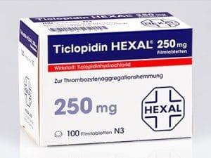 TICLOPIDINThuốc kháng tiểu cầu