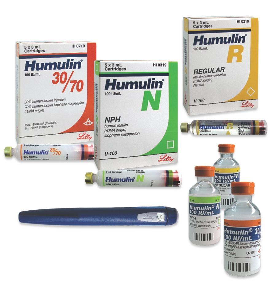 HUMULIN thuốc gì Công dụng và giá thuốc HUMULIN (2)