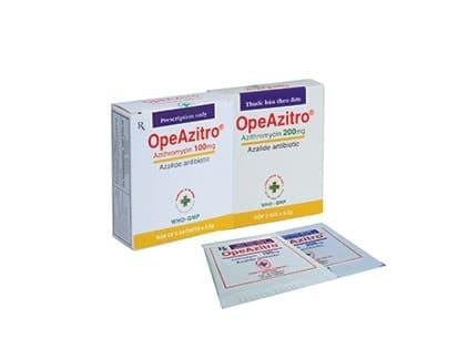 OPEAZITRO Thuốc kháng sinh nhiễm khuẩn (3)