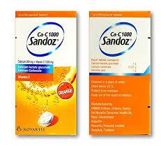 CaC 1000 SANDOZ thuốc gì Công dụng và giá thuốc CaC 1000 SANDOZ (3)