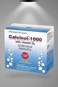 CALCINOL RB CALCINOL-1000 thuốc gì Công dụng và giá thuốc CALCINOL RB CALCINOL-1000