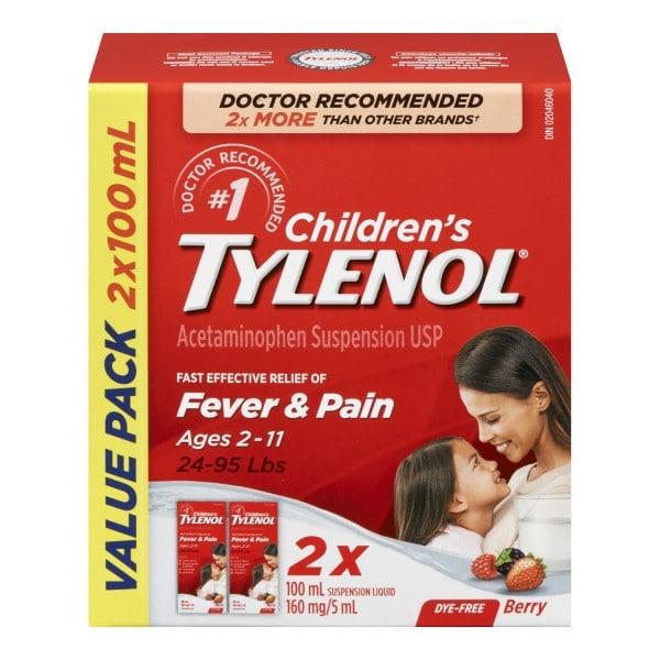 Children's TYLENOL thuốc gì Công dụng và giá thuốc Children's TYLENOL (2)