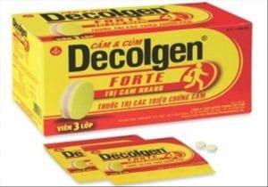 DECOLGEN FORTE - DECOLGEN LIQUIDE thuốc gì Công dụng và giá thuốc DECOLGEN FORTE - DECOLGEN LIQUIDE (1)