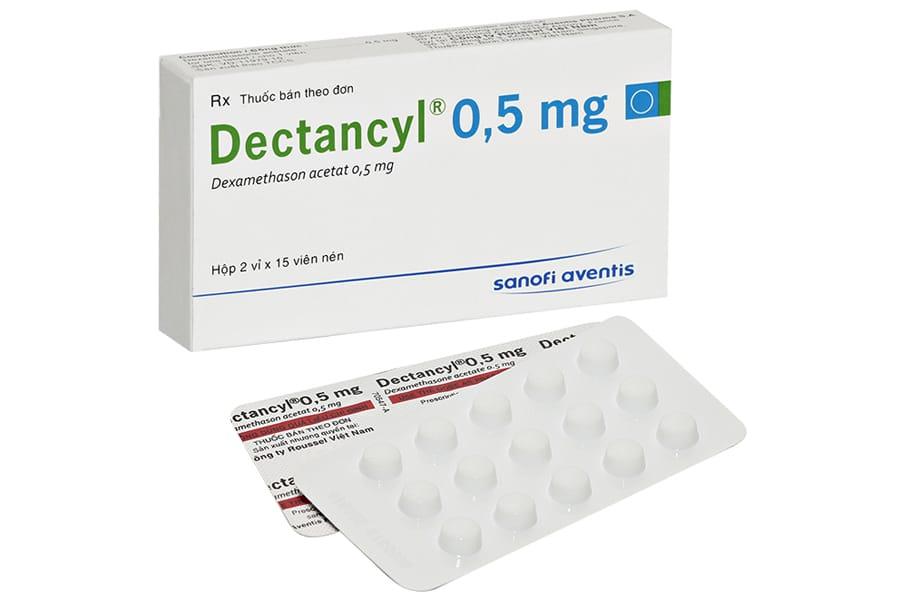 DECTANCYL 0,5% thuốc gì Công dụng và giá thuốc DECTANCYL 0,5% (1)