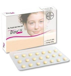 DIANE-35 thuốc gì Công dụng và giá thuốc DIANE-35 (3)