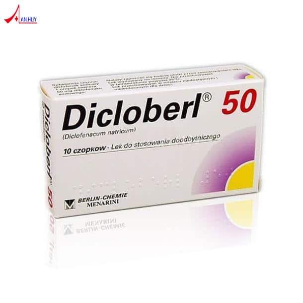 DICLOBERL thuốc gì Công dụng và giá thuốc DICLOBERL