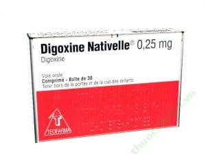 DIGOXINE NATIVELLE thuốc gì Công dụng và giá thuốc DIGOXINE NATIVELLE
