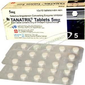 TANATRIL 5 mg 10 mg thuốc gì Công dụng và giá thuốc (2)