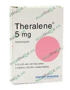 THERALENE thuốc gì Công dụng và giá thuốc THERALENE (4)