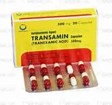 TRANSAMIN thuốc gì Công dụng và giá thuốc TRANSAMIN (1)