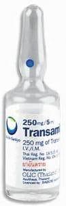 TRANSAMIN thuốc gì Công dụng và giá thuốc TRANSAMIN (4)