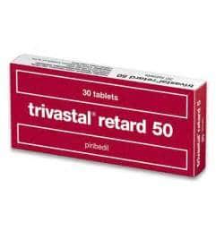 TRIVASTAL RETARD 50 mg thuốc gì Công dụng và giá thuốc TRIVASTAL RETARD 50 mg (2)