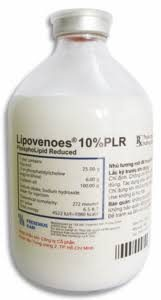 LIPOVENOES 10% PLR thuốc gì Công dụng và giá thuốc LIPOVENOES 10% PLR