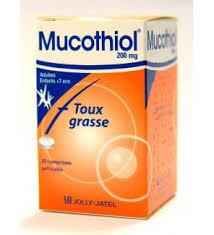 MUCOTHIOL thuốc gì Công dụng và giá thuốc MUCOTHIOL (2)