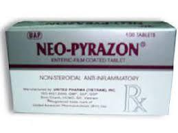 NEO-PYRAZON thuốc gì Công dụng và giá thuốc NEO-PYRAZON (2)