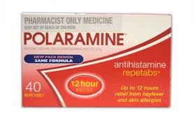 POLARAMINE Thuốc điều trị dị ứng, viêm mũi, viêm kết mạc, mề đay (1)