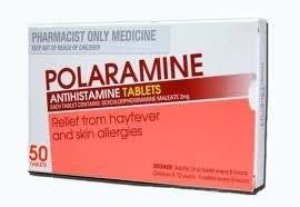 POLARAMINE Thuốc điều trị dị ứng, viêm mũi, viêm kết mạc, mề đay (3)