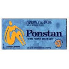 PONSTAN Thuốc điều trị các triệu chứng đau từ nhẹ đến trung bình (2)
