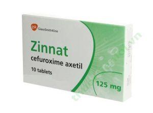 ZINNAT thuốc gì Công dụng và giá thuốc ZINNAT (2)