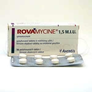 ROVAMYCINE thuốc gì Công dụng và giá thuốc ROVAMYCINE (2)