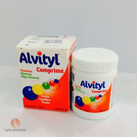 ALVITYL comprimes enrobes thuốc gì Công dụng và giá thuốc ALVITYL comprimes enrobes