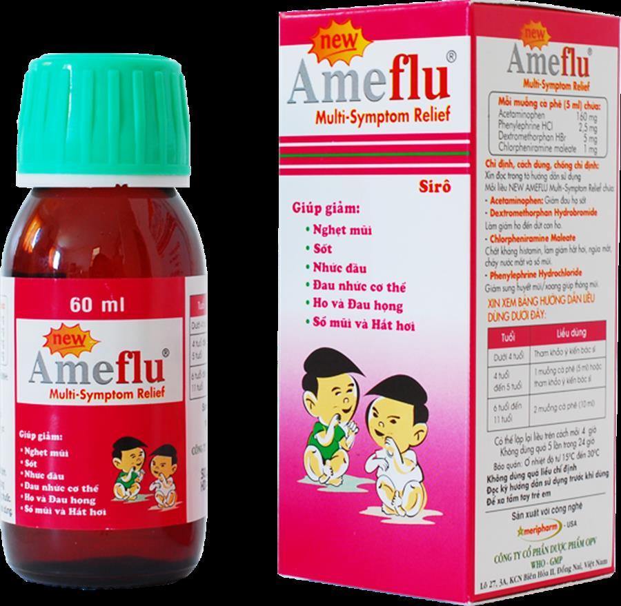 AMEFLU MS thuốc gì Công dụng và giá thuốc AMEFLU MS