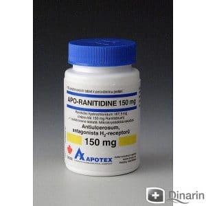 APO-RANITIDINE thuốc gì Công dụng và giá thuốc APO-RANITIDINE