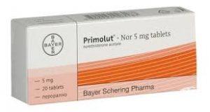 PRIMOLUT-NOR Thuốc điều trị rối loạn kinh nguyệt (1)