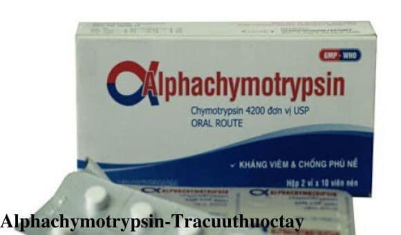 Thuoc Alphachymotrypsin 4 2mg Cong dung lieu dung cach dung (1)