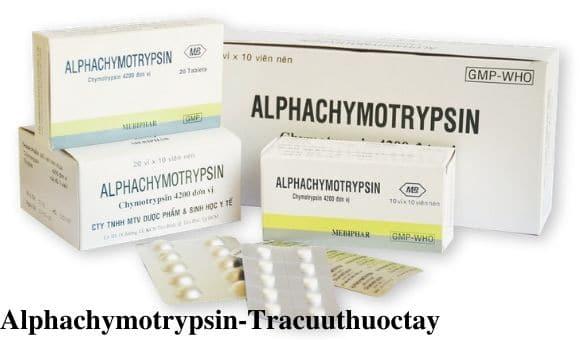 Thuoc Alphachymotrypsin 4 2mg Cong dung lieu dung cach dung (3)