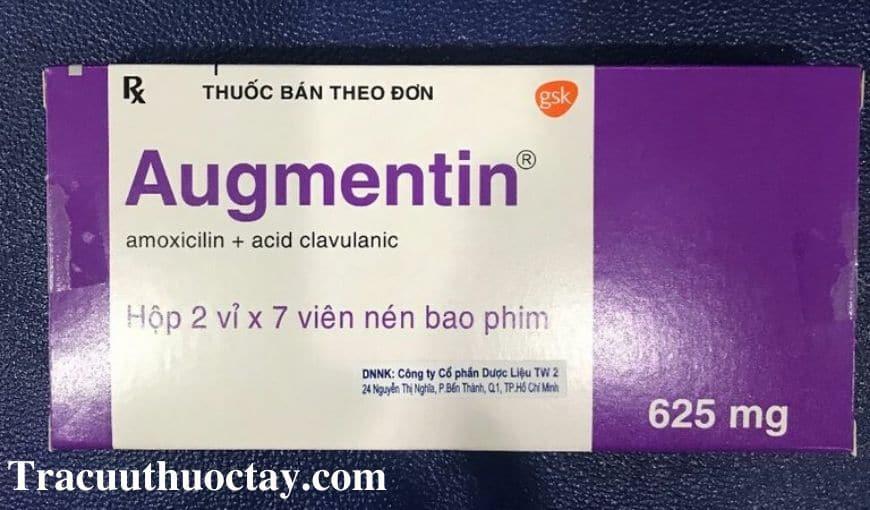 Thuoc Augmentin 625mg Cong dung lieu dung cach dung