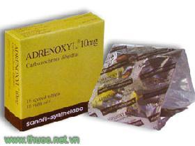 ADRENOXYL thuốc gì Công dụng và giá thuốc ADRENOXYL