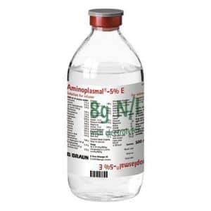 AMINOPLASMAL 5% - 10% E thuốc gì Công dụng và giá thuốc AMINOPLASMAL 5% - 10% E