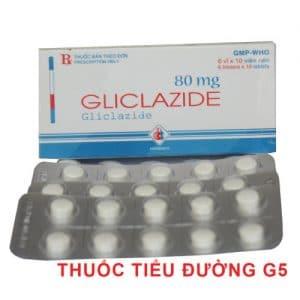 GLICLAZID Thuố c chốngđái tháo đường, dẫn chất sulfonylurê.