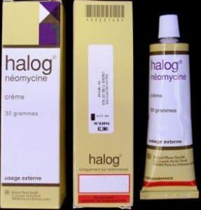 HALOG-NÉOMYCINE crème thuốc gì Công dụng và giá thuốc HALOG-NÉOMYCINE crème