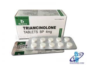 TRIAMCINOLON Glucocorticoid