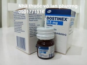 Thuoc dostinex 0.5mg Cabergoline gia bao nhieu (4)