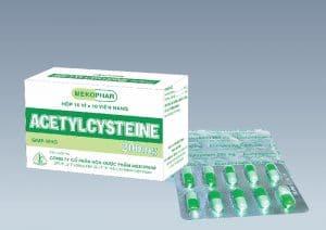 ACETYLCYSTEINThuốc tiêu chất nhầy, thuốc giải độc (quá liều paracetamol) (3)