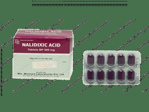 ACID NALIDIXIC Thuốc Quinolon kháng khuẩn (2)