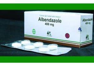 ALBENDAZOL Thuốc chống giun sán phổ rộng (1)