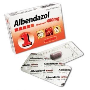 ALBENDAZOL Thuốc chống giun sán phổ rộng (2)