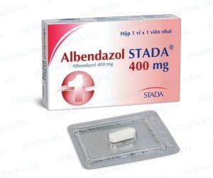 ALBENDAZOL Thuốc chống giun sán phổ rộng (4)