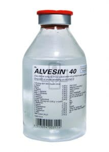 ALVESIN 40 thuốc gì Công dụng và giá thuốc ALVESIN 40AC