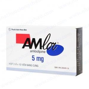 AMLOR thuốc gì Công dụng và giá thuốc AMLOR