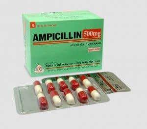 AMPICILIN Kháng sinh nhóm beta - lactam, phân nhóm penicilin A