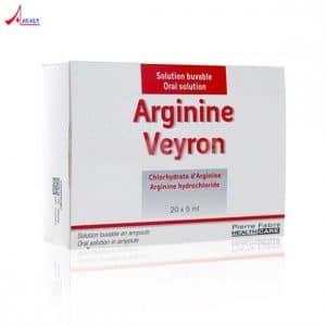 ARGININE VEYRON thuốc gì Công dụng và giá thuốc ARGININE VEYRON